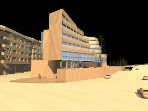 Concurso de ideas para la nueva sede de la Cuenca Hidrográfica Miño-Sil