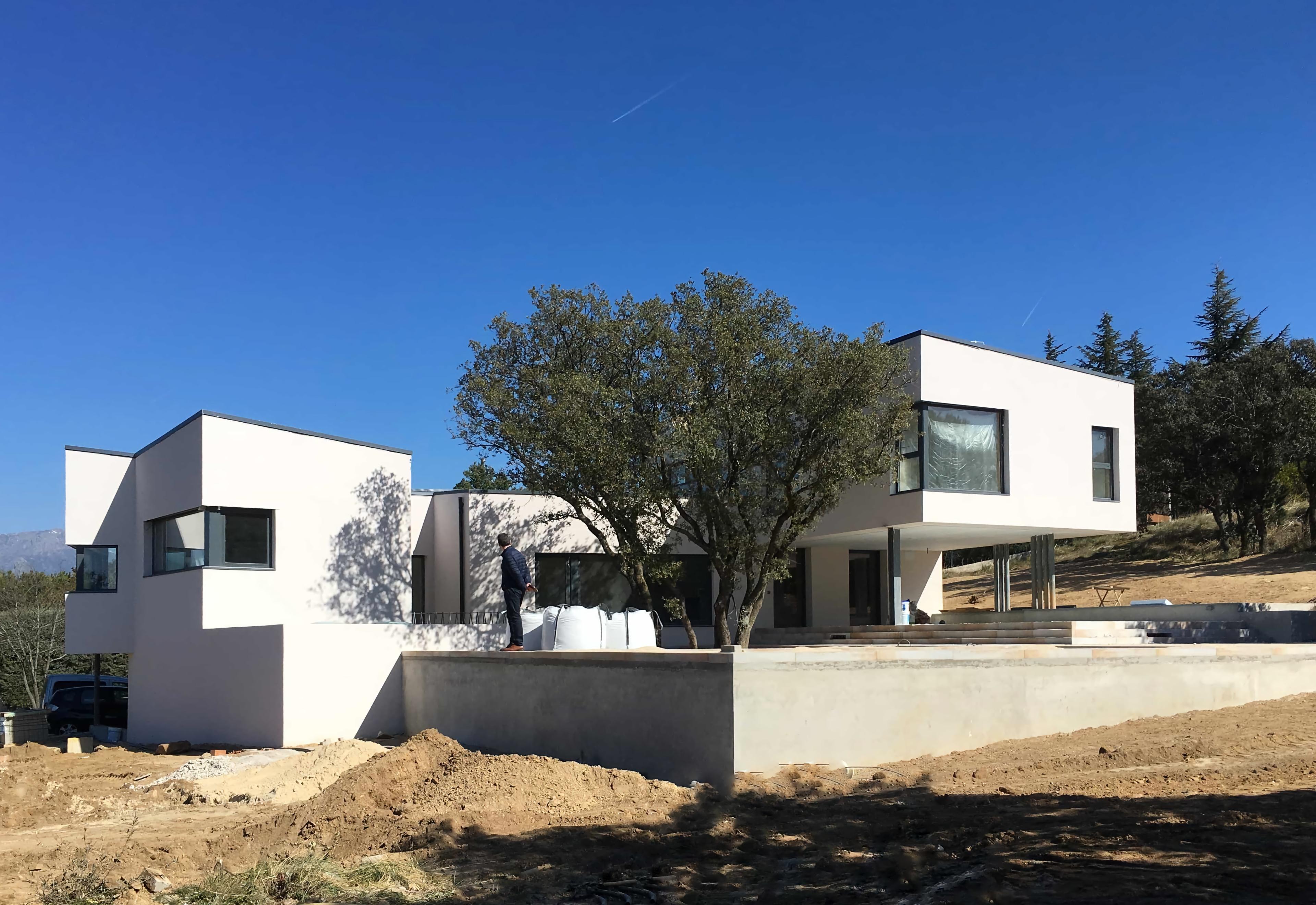 Vivienda unifamiliar de nueva planta en Guadarrama
