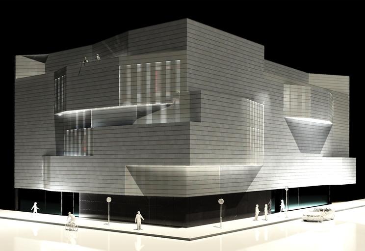 Concurso de ideas de nuevo edificio de oficinas para siete ministerios