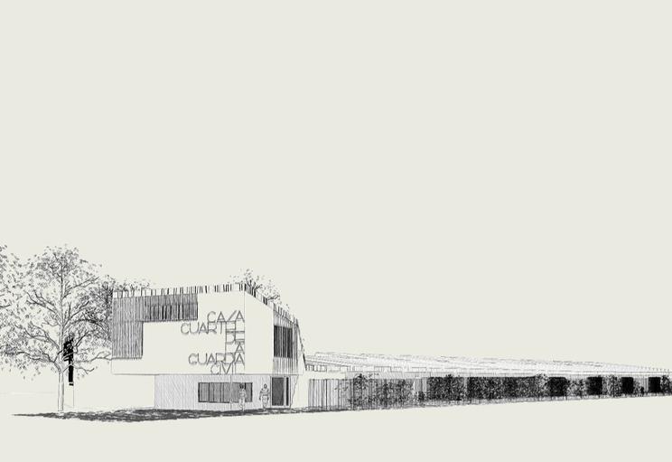 Concurso de ideas de la nueva Casa-cuartel de la Guardia Civil en Úbeda